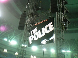 THE POLICE…。